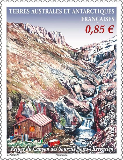"""Résultat de recherche d'images pour """"timbre Refuge sourcils noirs à Kerguelen terres Australes"""""""