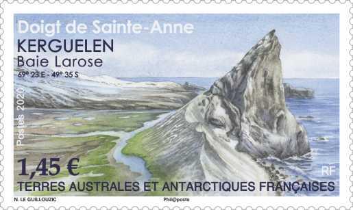 TAAF - Doigt de Sainte-Anne
