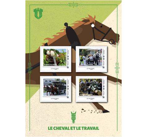 Le cheval et le travail - Lettre Verte