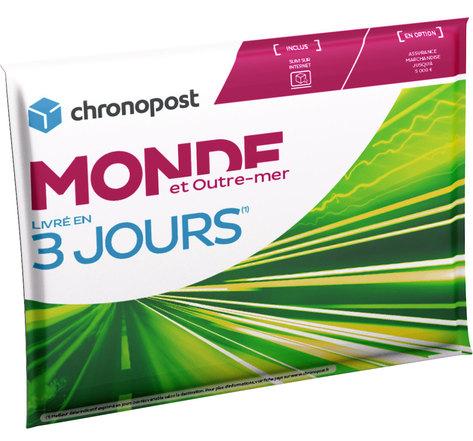 Pochette matelassée Chronopost - 1kg - Monde et Outre-Mer - 2019