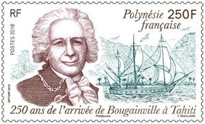 Polynésie Française - 250 ans de l'arrivée de Bougainville