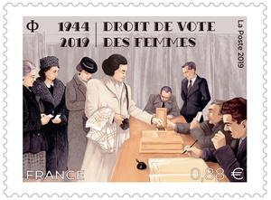 Timbre - Droit de vote des femmes