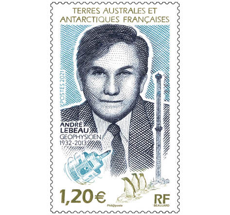 TAAF - André Lebeau Géophysicien