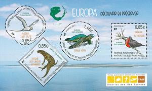 TAAF - Bloc Ile Europa - Animaux protégés