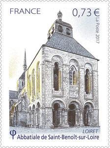 Timbre - Abbaye de Saint-Benoit-Sur-Loire - Loiret