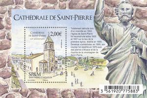 Saint-Pierre-et-Miquelon - 110 ans de la Cathédrale de Saint Pierre