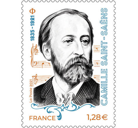 Camille Saint-Saëns - Lettre prioritaire
