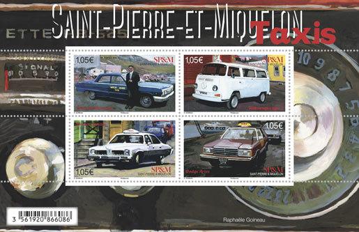Saint-Pierre-et-Miquelon - Bloc - Les taxis