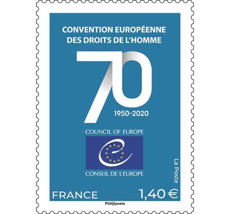 Conseil de l'Europe - 70ème anniversaire de la Convention européenne des droits de l'homme