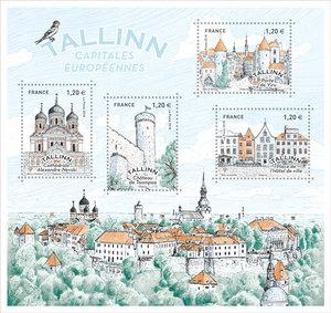 Bloc - Capitales Européennes Tallin