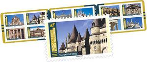 Carnet - Histoire de styles - 12 timbres autocollants