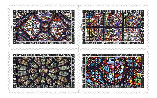 carnet structure et lumi re 12 timbres autocollants boutique particuliers la poste. Black Bedroom Furniture Sets. Home Design Ideas