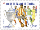 Timbre - Coupe De France De Football 1917- 2017