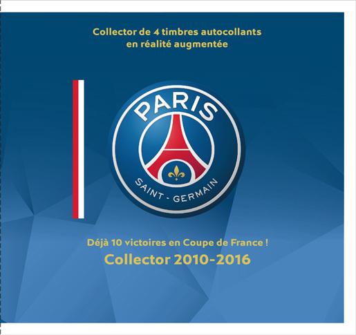 Bien connu Collector - PSG - Déjà 10 victoires en Coupe de France ! 2010-2016  PL08