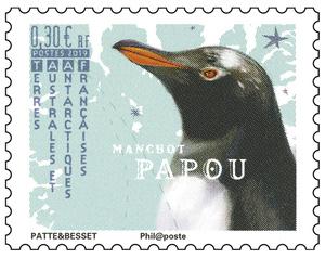 TAAF - Manchot papou