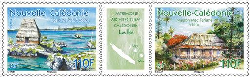 Patrimoine architectural calédonien - Les Iles
