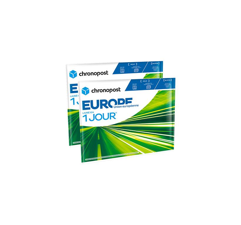 Enveloppe Chronopost - 1kg - Union européenne - 2019