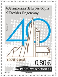 Andorre - 40è aniversari de la parroquia d'Escaldes-Engordany