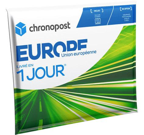Pochette matelassée Chronopost - 2kg - Union européenne - 2019