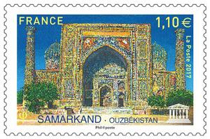 Timbre - Unesco Samarkand-Ouzbekistan