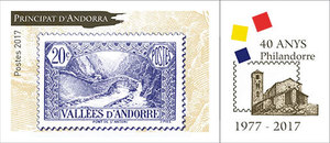 Andorre - Philandorre 1977-2017