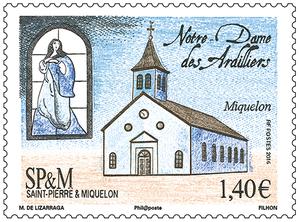 Saint-Pierre-et-Miquelon - Église des Ardilliers
