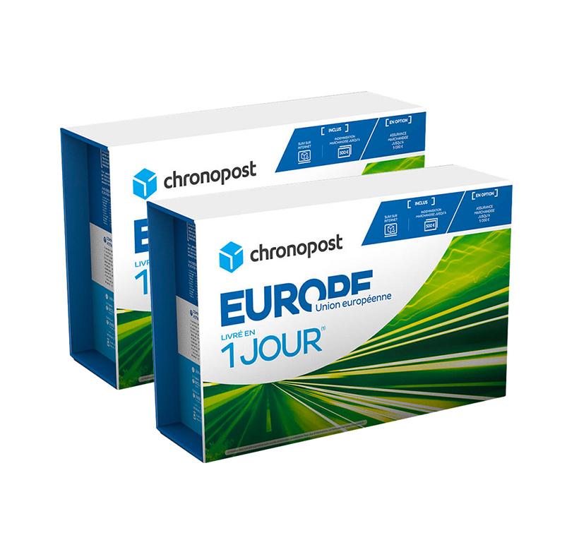 Boîte Chronopost - 5 kg - Union européenne - 2019