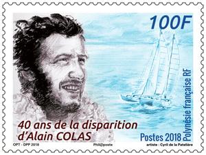 Polynésie Française - 40 ans de la disparition d'Alain Colas