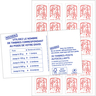 Carnet de 20 timbres Marianne Rouge - Lettre prioritaire