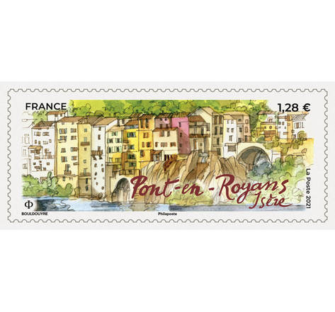 Pont-en-Royans - Lettre prioritaire