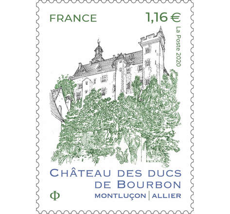 Château des Ducs de Bourbon Montluçon - Lettre Prioritaire