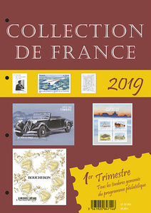 Agrandir l'image : Collection de France 1er trimestre 2019