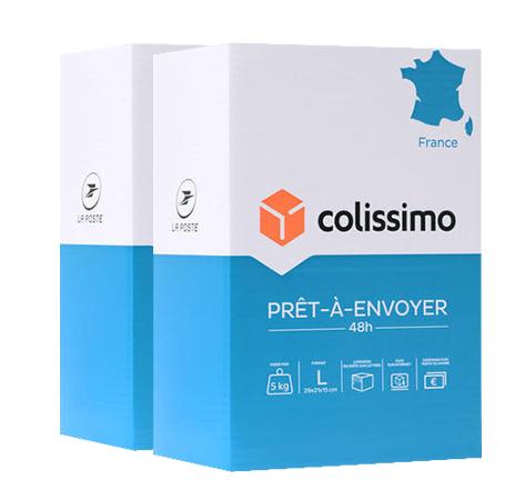 Colissimo Prêt-à-Envoyer France - Boite de taille L - 5 kg