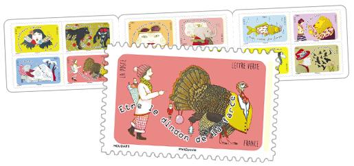 Carnet etre le dindon de la farce 12 timbres for Farcical or farcical