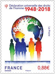 Timbre - Déclaration universelle des droits de l'homme