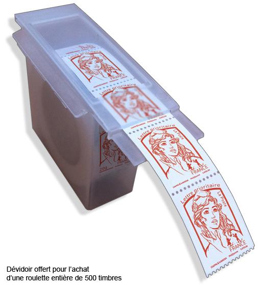 roulette marianne et la jeunesse rouge lettre prioritaire boutique particuliers la poste. Black Bedroom Furniture Sets. Home Design Ideas