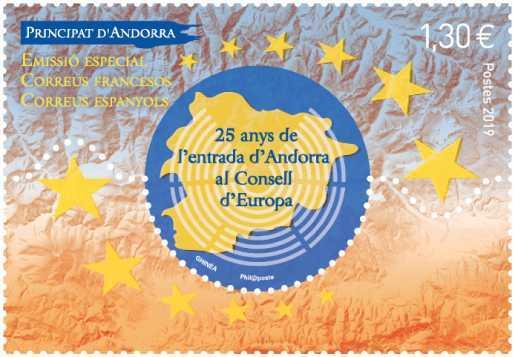 25 anys de l'entrada d'Andorra al Conselld'Europa
