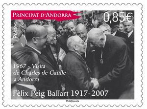 Andorre - Felix Peig Ballart