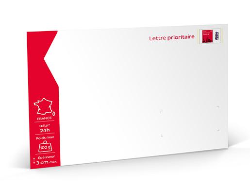 lettre prioritaire Prêt à Poster   Lettre Prioritaire   100g   Unité | Boutique  lettre prioritaire