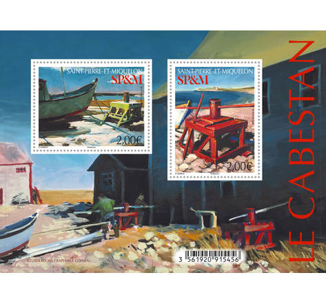 Saint-Pierre-et-Miquelon - Bloc - Le Cabestan
