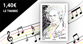 Beaux timbres Ludwig Van Beethoven