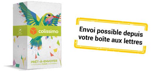 Edition Limitee Colissimo Pret A Envoyer Colibri Boite M 3 Kg