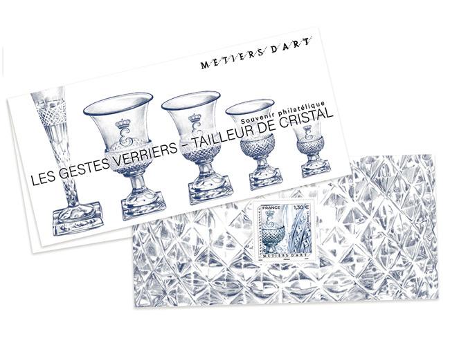 Souvenir - Métiers d'art - Les Gestes Verriers - Tailleur Cristal
