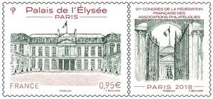 Timbre - 91ème Congrès de la Fédération française des Associations philatéliques