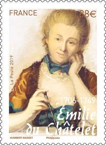 Timbre - Emilie du Châtelet