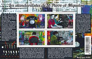 Saint-Pierre-et-Miquelon - Bloc les Standardistes