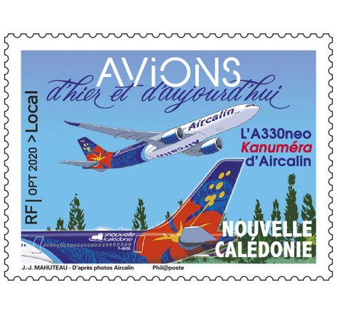 Nouvelle Calédonie - L'A330neo Kanuméra d'Aircalin