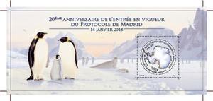 TAAF - 20ème anniversaire de l'entrée en vigueur du Protocole de Madrid