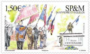Saint Pierre et Miquelon - L'armistice