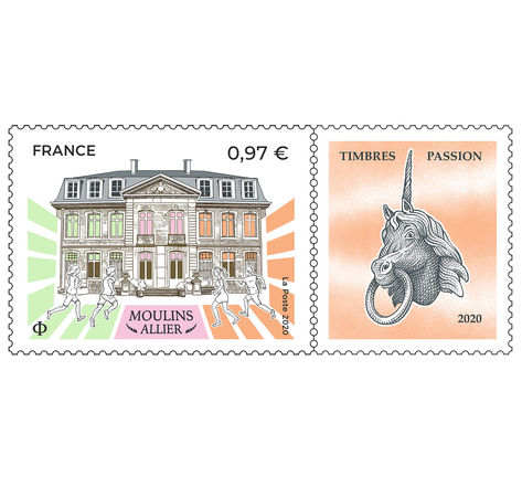 Moulins - Allier - Timbres Passion 2020